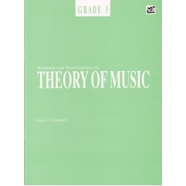 Workbook with More Exercises on Theory of Music Grade 3