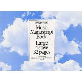 Music Manuscript Book A5