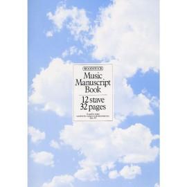 Music Manuscript Book A4