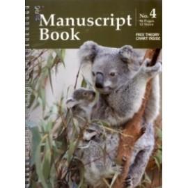 Music Manuscript Book A4 Spiral