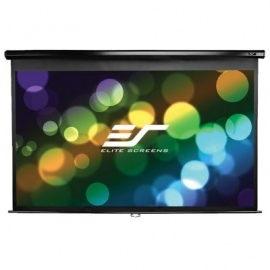 ELITEM100UWHBK Manual Projector Screen