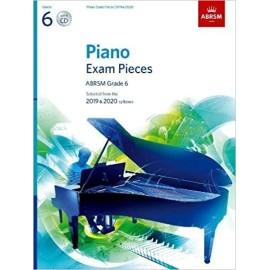 ABRSM Piano Exam Grade 6 (Bk&CD) 2019-2020