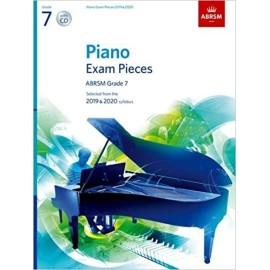 ABRSM Piano Exam Grade 7 (Bk&CD) 2019-2020