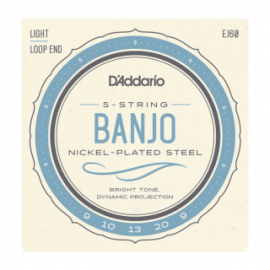 EJ69 5-String Banjo, Phosphor Bronze Banjo Strings