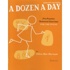A Dozen A Day Book Five: Intermediate