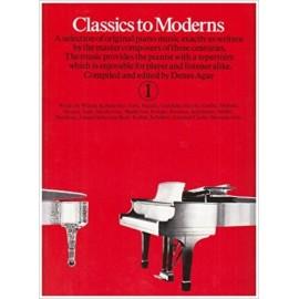 Classics to Moderns 1