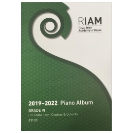 Royal Irish Academy Piano Album 2019 - 2022 Grade 6