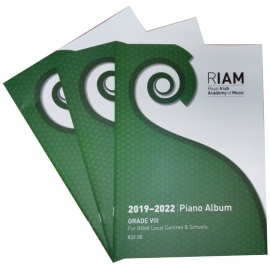 Royal Irish Academy Piano Album 2019 - 2022 Grade 8
