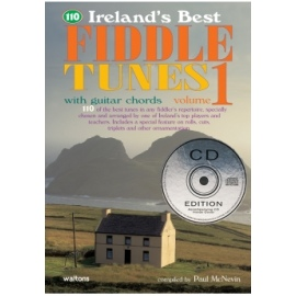 110 Irelands Best Fiddle Tunes 1 CD Edition