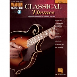 Mandolin Play-Along Classical Themes Volume 11