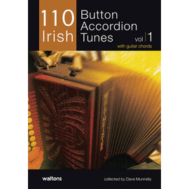 110 Button Accordion Tunes (Book Only)