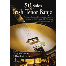 50 Solos For Irish Tenor Banjo (Book Only)