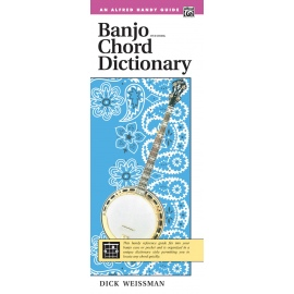 Banjo Chord Dictionary Five String An Alfred Handy Guide