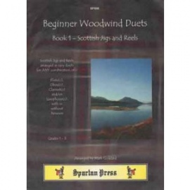 Beginner Woodwind Duets Book 1 Scottish Jigs and Reels
