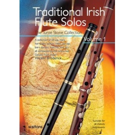 Traditional Irish Flute Solos Volume 1 (Book Only Edition)