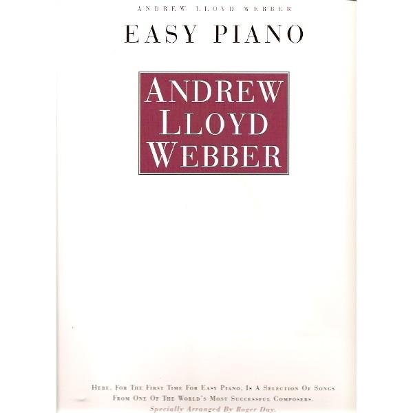 Andrew Lloyd Webber: Easy Piano (PVG)