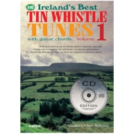 110 Irelands Best Tin Whistle Tunes Volume 1 (CD Edition)