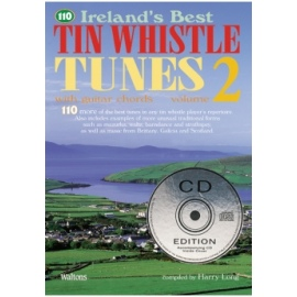 110 Irelands Best Tin Whistle Tunes Volume 2 (CD Edition)