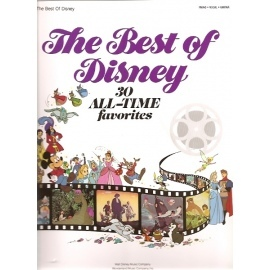 The Best of Disney: 30 All Time Favourites (PVG)