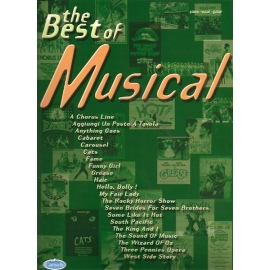 Musicals, The Best Of (PVG)