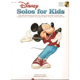 Disney Solos for Kids (Piano, Vocal & CD)