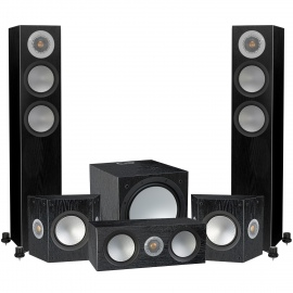Silver 200 AV12 5.1 Home Cinema Speaker Pack