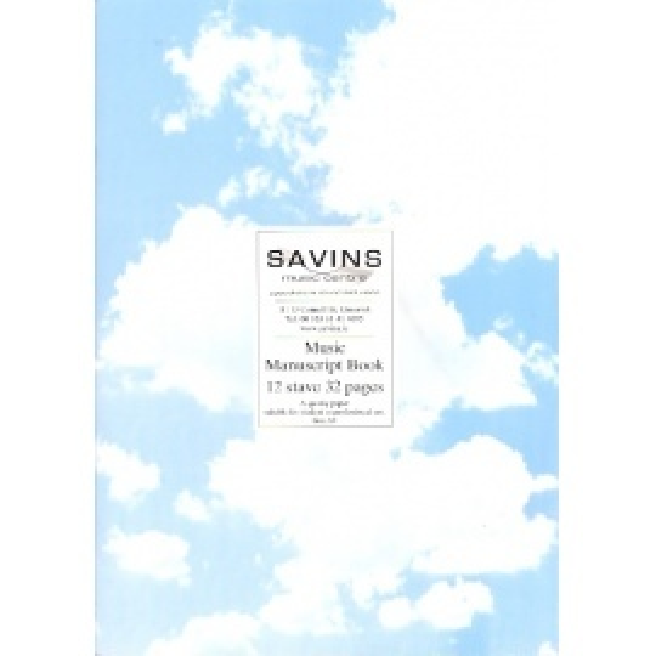 Savins A4 Manuscript Book
