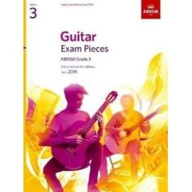 ABRSM Guitar Exam Pieces 2019 Grade 3 (Book Only Edition)