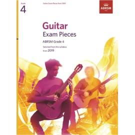ABRSM Guitar Exam Pieces 2019 Grade 4 (Book Only Edition)