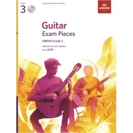 ABRSM Guitar Exam Pieces 2019 Grade 3 (CD Edition)