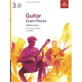 ABRSM Guitar Exam Pieces 2019 Grade 3 (CD Edition)