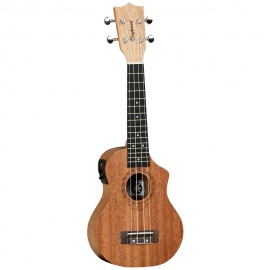 TWT1CE Soprano Electric Acoustic Ukulele with Cutaway