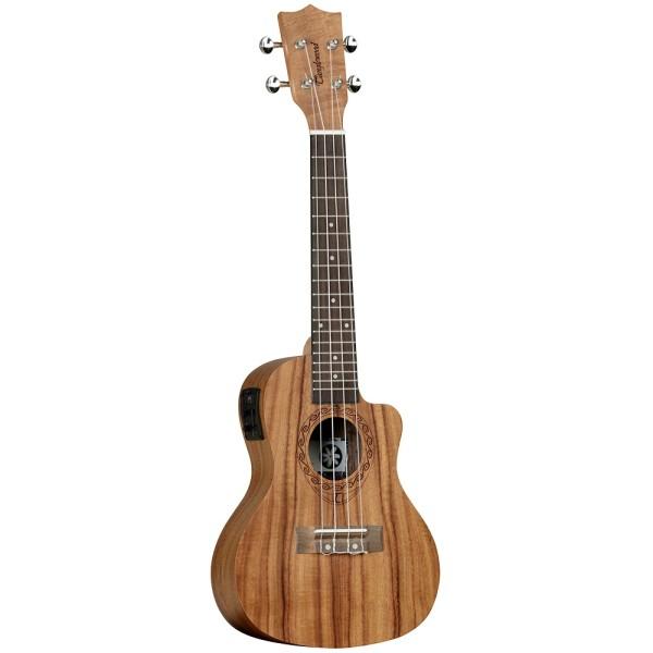 TWT16E Concert Electric Acoustic Ukulele