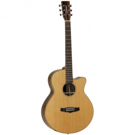 TWJSFCE Java Series Dreadnought Electric Acoustic Guitar