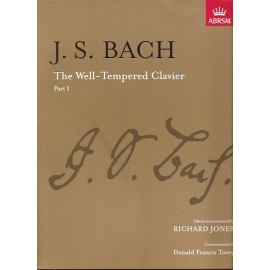 Bach: The Well Tempered Clavier Part I: ABRSM