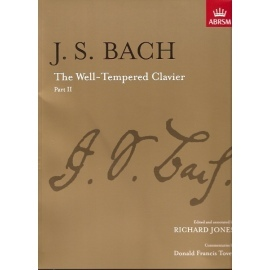 Bach: The Well Tempered Clavier Part II: ABRSM