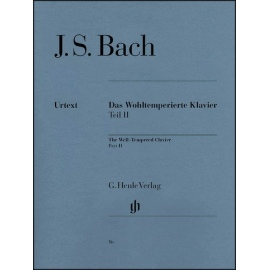 Bach: The Well Tempered Clavier Part II: Henle Verlag