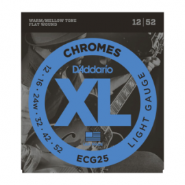ECG25 Chrome Electric Guitar Strings .012 - .052