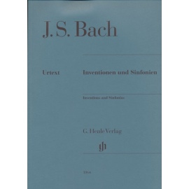 Inventions and Sinfonias: Henle Verlag