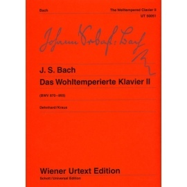 Bach - The Well Tempered Clavier II
