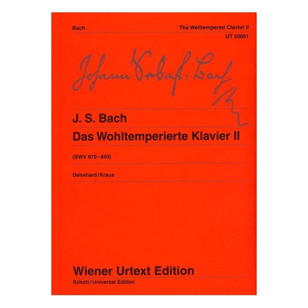 Das Wohltemperierte Klavier II: Wiener Urtext Edition