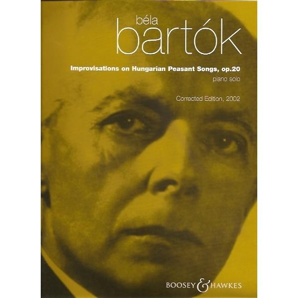 Improvisations on Hungarian Peasant Songs Op. 20