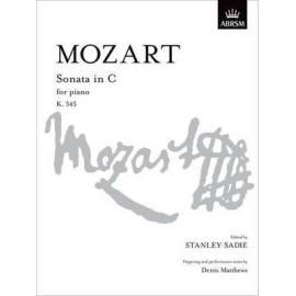 Mozart - Sonata in C for Piano K.545
