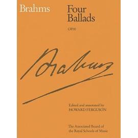 Brahms - Four Ballads Op.10 (ABRSM Edition)