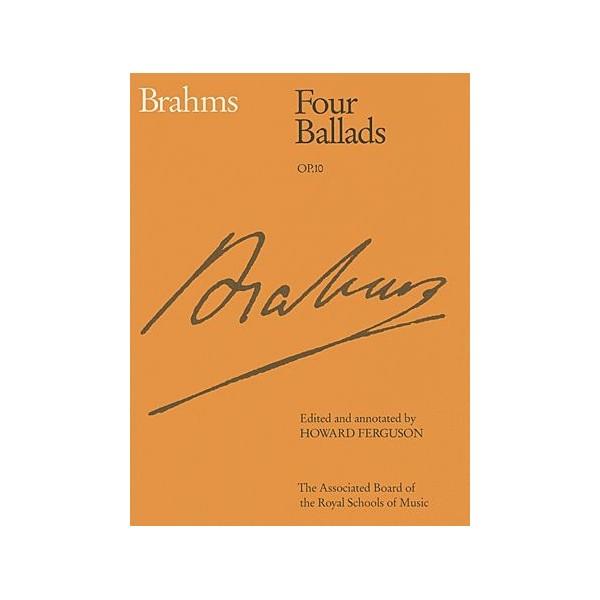 Brahms Four Ballads op.10 (ABRSM Edition)