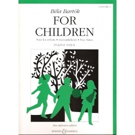 Bela Bartok For Children: Piano Solo: Vol 2