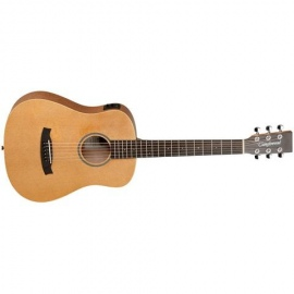 TW2TSE Travel sized semi-acoustic guitar