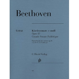 Beethoven - Sonata No. 8 in C Minor Op.13 Grande Sonate Pathetique: Henle Verlag