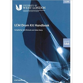 LCM Drum Kit Handbook Grades 5&6 (CD Edition)