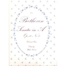 Sonata in A Op.12 No. 2: Augener Edition